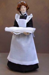 Edwardian Parlour Maid... SOLD