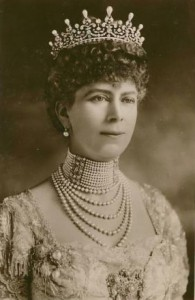 Her Majesty Queen Mary who was married to Kind George V...