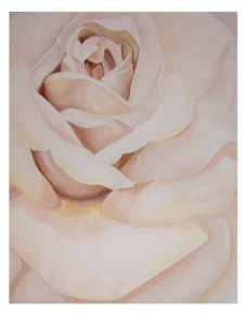 "Rose… Acrylics on Canvas (24×30"")..."